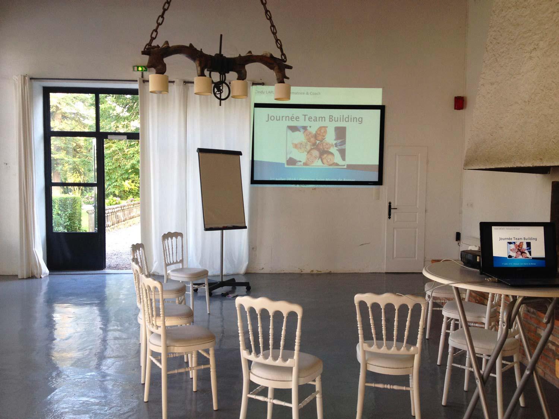 salle de réunion pour une formation entreprise