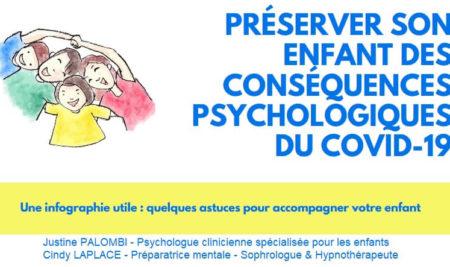 Préserver son enfant des conséquences psychologiques du COVID-19